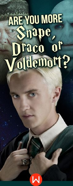 Take this Harry Potter quiz to find out who's your HP wizard match! Draco Malfoy, Severus Snape, Tom Riddle, Lord Voldemort. Who's your #hogwarts match? This Harry Potter personality quiz will reveal your Wizarding world true identity. #harrypotterfan Who are you really? You know who can tell you!