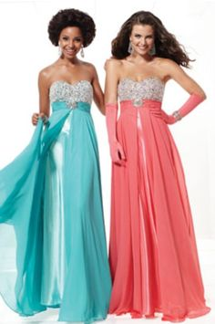 This prom dress is great for if you want to match with your best friend By:Seventeen Magazine