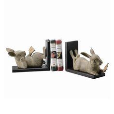 Rabbit Bookends   Decor   Furnishing   Rabbit Gift   SPI