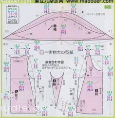 服装裁剪图汇集(一)——成人衣