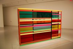 Liam Gillick - Status Following Closure - 2008  Could be an interesting back wall