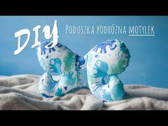 DIY - Poduszka podróżna dla niemowlaka MOTYLEK (antywstrząsowa) - YouTube