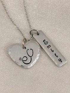 Stethoscope Necklace-Nurse Jewelry-Healthcare Necklace-Gift