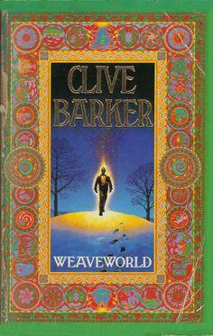 Weaveworld book cover design, Clive Barker