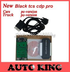 Crazy Buy! original 2015.1 software cd DVD ! black tcs CDP PRO plus for multi-brand cars and trucks obd obd2 scan tool Free ship