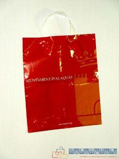 40182b347 Las 64 mejores imágenes de Bolsas de plástico | Plastic bags, Paper ...