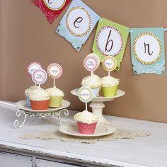 Free Printable Cupcake Wrapper Template
