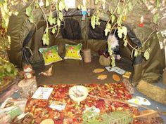 Displaying the potential of the outdoors inside | Creative STAR Learning | I'm a teacher, get me OUTSIDE here! #fairyforest