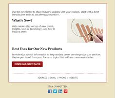 111 Best Email Templates From Constant Contact Images On Pinterest