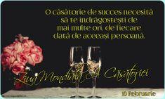 10 Februarie - Ziua Mondială A Căsătoriei 10 Februarie, Red Wine, Alcoholic Drinks, Liquor Drinks, Alcoholic Beverages, Liquor