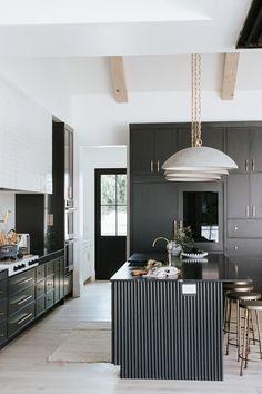 Grey Kitchen Designs, Design Your Kitchen, Contemporary Kitchen Design, Interior Design Boards, Interior Design Kitchen, Kitchen Decor, Country Modern Home, Modern Barn, French Country