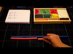 regletas numéricas maria antonia canals Math 2, Math Multiplication, Teaching Tools, Teaching Math, Homeschool Math, Mathematics, Youtube, Creative, Kids