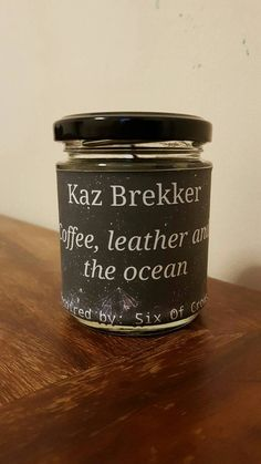 Kaz Brekker Candle Six Of Crows by StarsnDreams on Etsy
