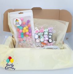 ANIMAL FRIENDS Necklace Party Activity Box - Party Favours Kids Craft Party Activity DIY Necklace Kit Silicone Beads Australia Kid Party Favors, Craft Party, Craft Kits For Kids, Crafts For Kids, Diy Necklace Kit, Activity Box, Friend Necklaces, Party Activities, Birthday Party Themes