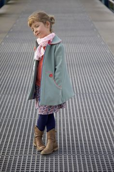 Working on a new pattern: the Louisa wintercoat, Since the day I subscribed for my coat sewing course last year, I wanted to draw a coat for girls. It's like the icing on the cake for every pattern d...  #louisacoat