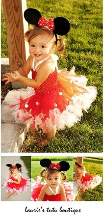 I can't stand the cuteness! :-) Little Miss Minnie Mouse Petti-Tutu & Mouse Ears from Lauri'es Tutu Boutique Minnie Mouse 1st Birthday, Minnie Mouse Pink, Minnie Mouse Party, Girl Birthday, Tulle Crafts, Raising Girls, Mouse Ears, Pageant Dresses, Happy Kids