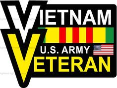 VIETNAM U.S. Army VETERAN decal sticker - FREE SHIPPING