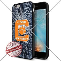 WADE CASE Clemson Tigers Logo NCAA Cool Apple iPhone6 6S Case #1081 Black Smartphone Case Cover Collector TPU Rubber [Break] WADE CASE http://www.amazon.com/dp/B017J7EBW4/ref=cm_sw_r_pi_dp_j6kvwb09CDAN8