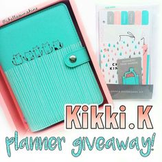 @Regrann from @chellasunshine -  GIVEAWAY TIME! Hey y'all happy Friday the 13th! I am giving away one Kikki.k Vanskap Medium Planner with the matching Dashboard Kit full of cute accessories for your planner! I have a video on my youtube channel (chellasunshine) showing you what these products feature. I really like this planner a lot but I intended on giving it away so I have to follow through hahahaa . I didn't think I would like it so much! Here's what you have to do to enter for your…