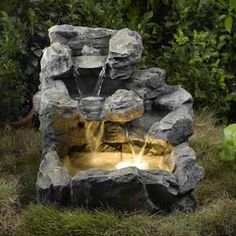Freeform Cascade Pool Water Feature