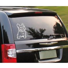Frenchies On Board Car Decal Vinyl Sticker 2.28 Follow us for the Latest and Trending items for Dog Lovers ❤ FREE Shipping worldwide ✈ #doglovers #petlovers #doggroomers #dogbreeds #doglovergifts #petowners #pawprint #pawsome #dogmom #dog #dogs #doglover #doglife #doggy #doglove #puppies #doggie #doggies #dogprints