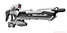 Sci Fi gun / Sniper Rifle
