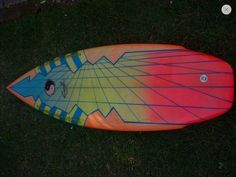 80's town & country surfboard made in Australia