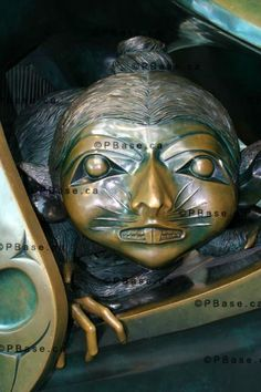 The Spirit Of Haida Gwaii Sculpture By Bill Reid, Sculpture By ...