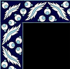 10x20 Çini Bordürler Turkish Art, Turkish Tiles, Border Pattern, Pattern Art, Tile Panels, Caligraphy, Tile Art, Islamic Art, Zentangle
