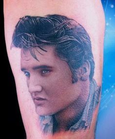 elvis silhouette tattoo - Google Search