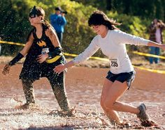10 Can't-Miss Running Adventures Little Rock's Mud Run 5-K  Costumes and on-the-course fun trump speed in this Southern version of the mud run.