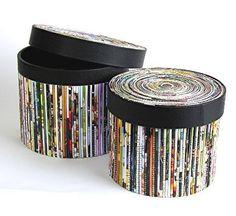 Krabičky • z papírových proužků