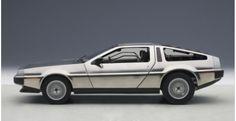 DeLorean DMC-12 Satin Finish Limited Edition AUTOart 79911