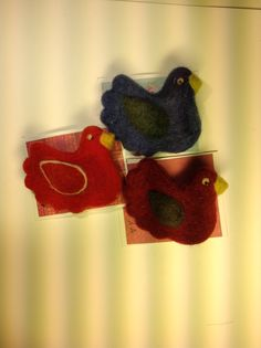 Needle felted brooch Felt Brooch, Needle Felting, Crochet Earrings, Felting