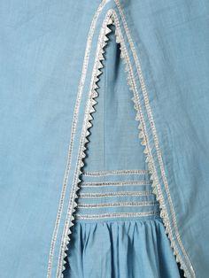 Light Blue Cotton Gota Sharara Set - Set of 3 Sharara Designs, Kurta Designs Women, Kurti Designs Party Wear, Simple Pakistani Dresses, Pakistani Dress Design, Designer Party Wear Dresses, Indian Designer Outfits, Kurta Patterns, Simple Kurti Designs