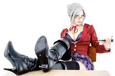 chacha -- Meiko Shiraki from Prison School -- Cosplay Photo - Cure WorldCosplay