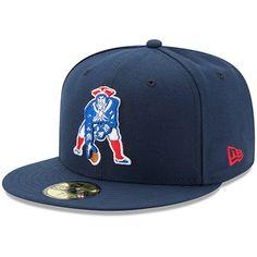 03e424507 New England Patriots New Era Classic Logo Omaha Fitted Hat - Navy. SteFone  Burton · Hats
