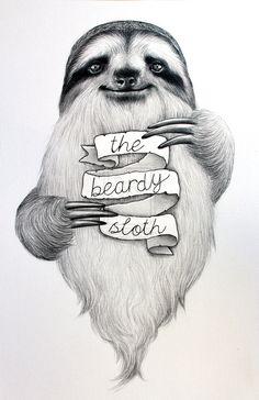 Sloth drawing, my spirit animal, amazing drawings, my drawings, animal draw Griffon Tattoo, Animals Images, Cute Animals, Sloth Drawing, Sloth Tattoo, Sloth Sleeping, Cute Sloth, Amazing Drawings, Spirit Animal