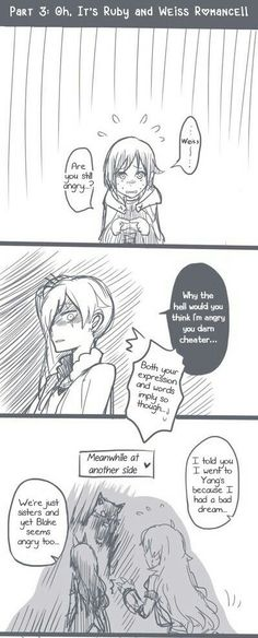 RWBY: Part 3: Oh, It's Ruby and Weiss Romance!! (1/3)