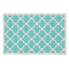 The Land of Nod | 5 x 8' Blue Magic Carpet Woven Rug in Patterned Rugs