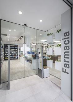Farmacia Cuenca 136Valencia Pharmacy Store, Design Exterior, Boffi, Clinic Design, Retail Store Design, Shop Interiors, Store Fronts, Visual Merchandising, Furniture