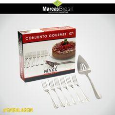 Embalagem Conjunto Gourmet – Maxx Import > Desenvolvida para empresa Maxx Import, layout e foto dos produtos para divulgação < #embalagem #marcasbrasil #agenciamkt #publicidadeamericana
