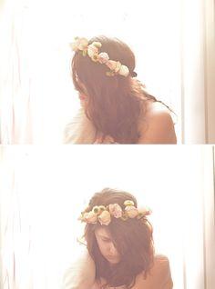 Coachella Crown: Dried Floral #DIY #flowercrown