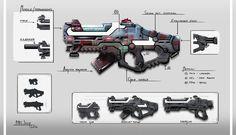 Mercenary Weapon Design by MihicJosip