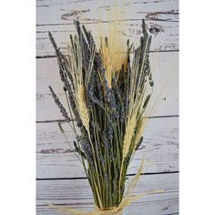 Country Charm Lavender Bouquets are a fragrant addition to your home decor. These also make great bridal bouquets for anyone in the wedding party. Imagine this lavender and wheat arrangement in your modern farmhouse kitchen. The possibilities are endless. Order today! DriedDecor.com #lavender #wheat #driedflowers #falldecor #farmhouse #countrydecor #fallwedding #weddinginspiration #weddingbouquet