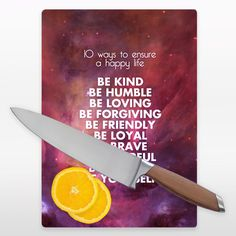 Bee Do Have Happy Life Cutting Board