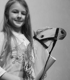 Two stick horses easter gift for kids wooden rocking horse wooden find this pin and more on hobby horses by therealhorse negle Images
