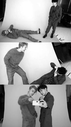 Find friends who will do stupid stuff with you just like these two 💕 Yesung, Lee Donghae, Siwon, Heechul, K Pop, Super Junior Donghae, Dong Hae, Last Man Standing, Best Couple