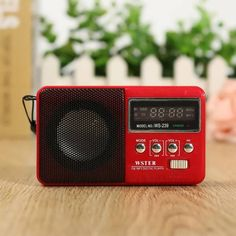 WS-239 Digital FM Radio Receiver Speaker Micro SD TF Card MP3 Music Player  Worldwide delivery. Original best quality product for 70% of it's real price. Buying this product is extra profitable, because we have good production source. 1 day products dispatch from warehouse. Fast &...