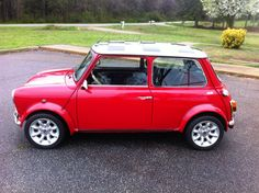 Rover VTEC Mini - Conversion by Mini Tec, LLC of Royston, GA.  This is a great looking car with approx. 220hp!